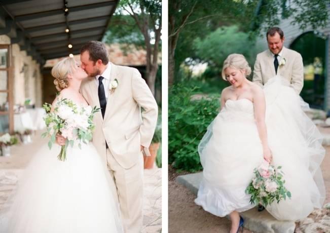 Organic Blush Wedding at The LBJ Wildflower Center in Austin, TX 10