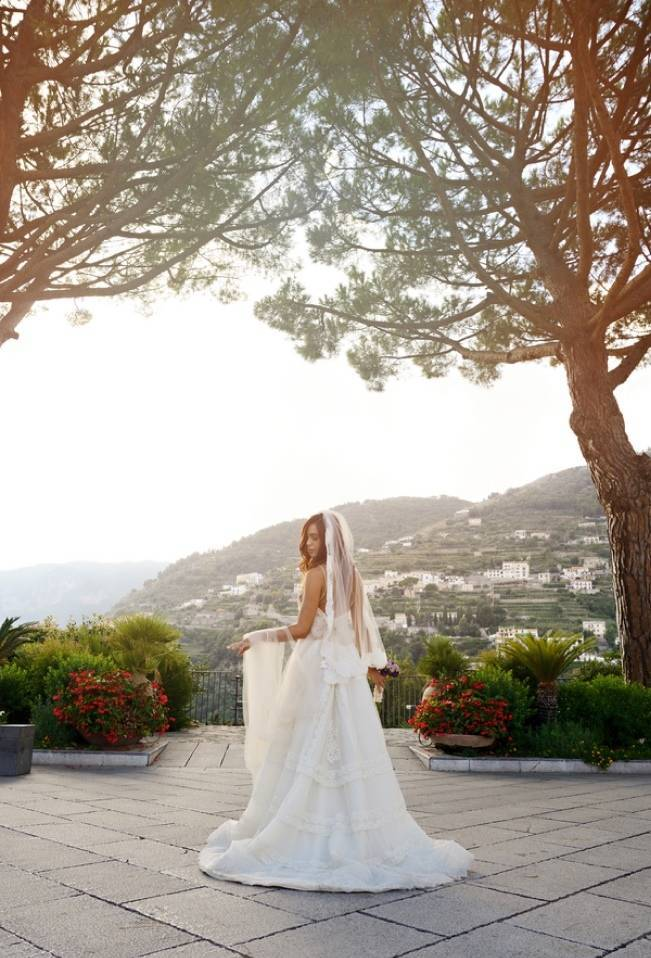 Romantic Positano, Italy Bridal Shoot 10