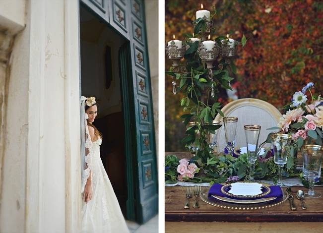 Romantic Positano, Italy Bridal Shoot 12