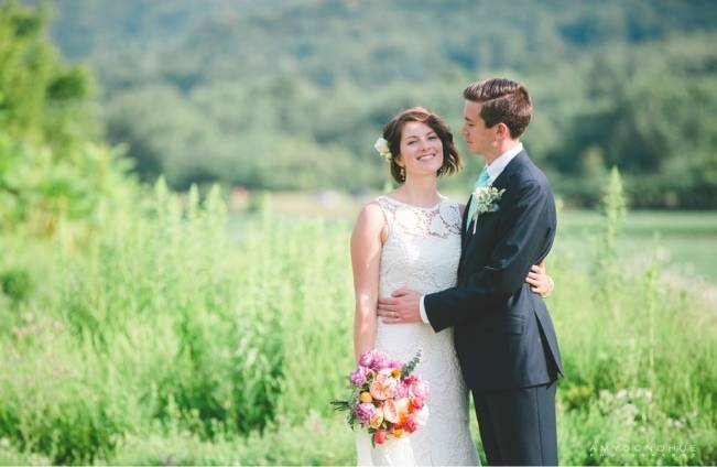 Romantic Vermont Wedding at West Monitor Barn - amy donohue photography 7