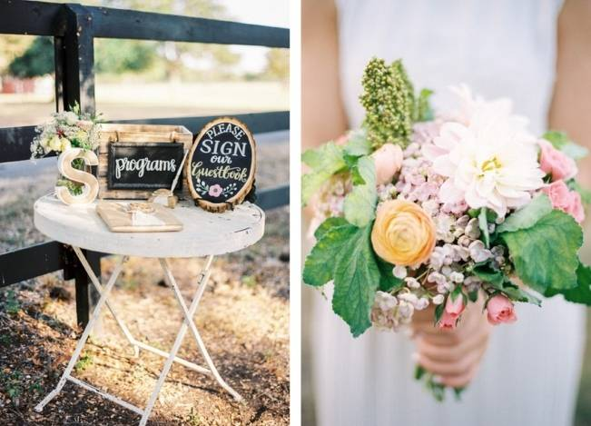 Rustic Chic Texas Barn Wedding - Stephanie Hunter Photography 14