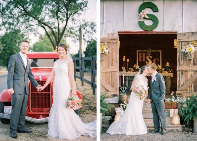 Rustic Chic Texas Barn Wedding - Stephanie Hunter Photography 16