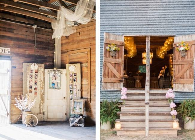 Rustic Chic Texas Barn Wedding - Stephanie Hunter Photography 22