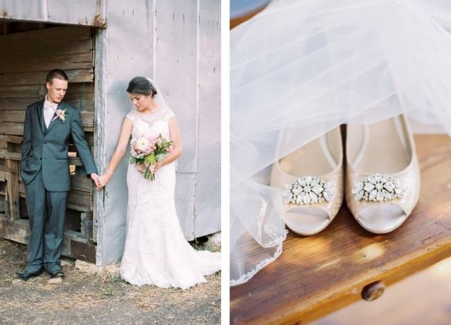 Rustic Chic Texas Barn Wedding - Stephanie Hunter Photography 4
