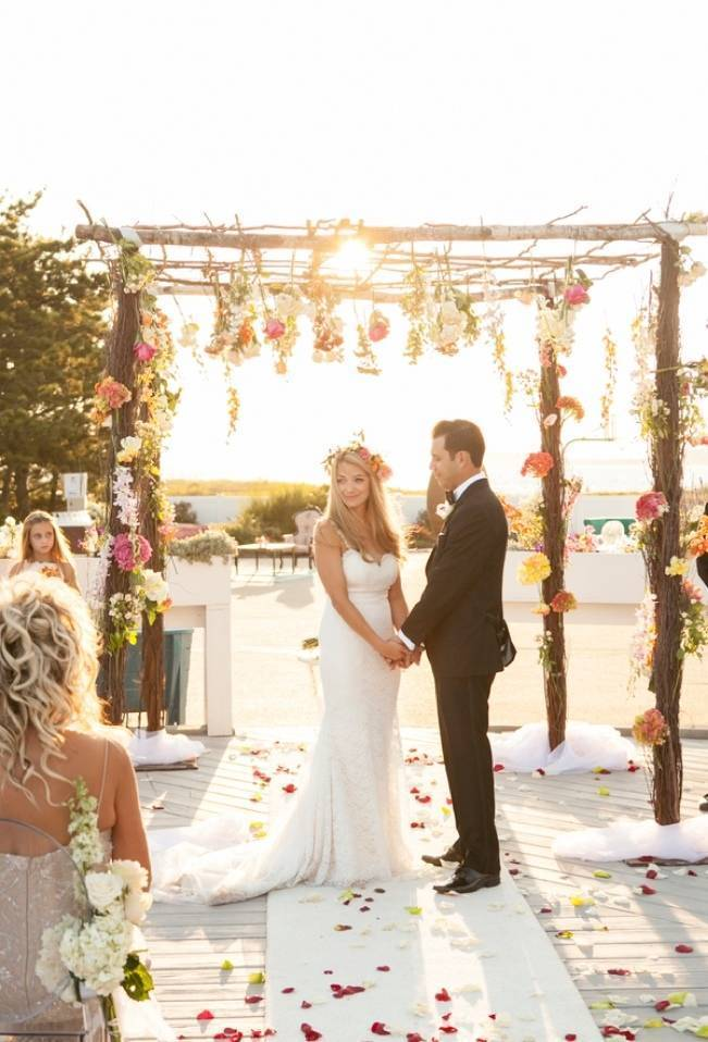Boho Beach Wedding in Long Island, New York 10