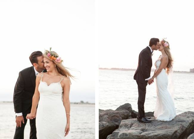 Boho Beach Wedding in Long Island, New York 15