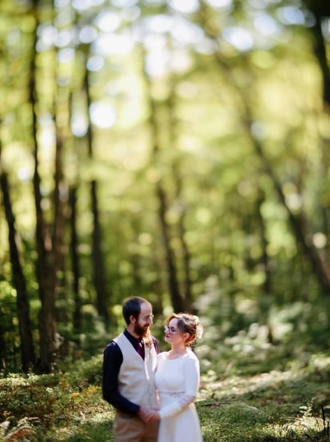 Folksy Supermoon Farm Wedding in Vermont 14