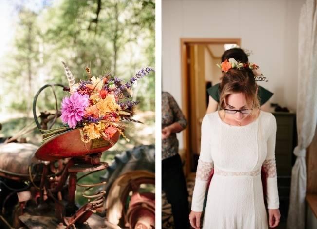 Folksy Supermoon Farm Wedding in Vermont 2