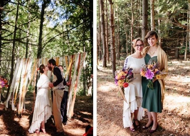 Folksy Supermoon Farm Wedding in Vermont 20