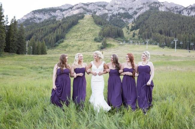 Plum & Nude Rustic Mountain Wedding - Melanie Bennett Photography 1