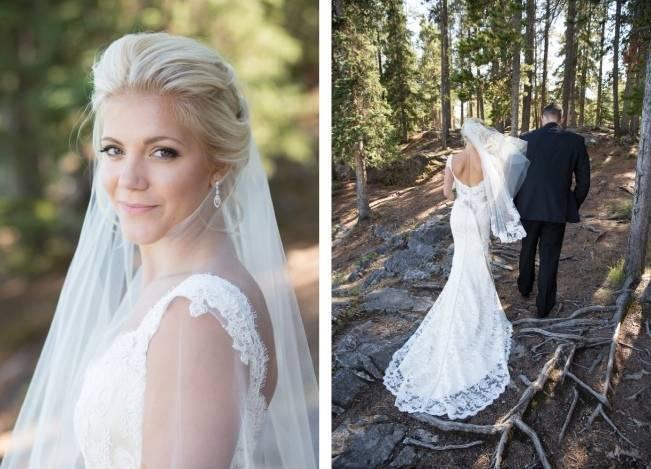 Plum & Nude Rustic Mountain Wedding - Melanie Bennett Photography 15