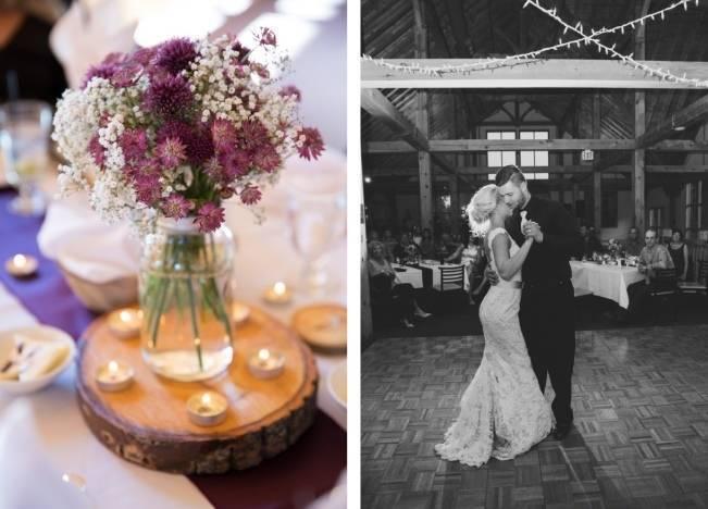 Plum & Nude Rustic Mountain Wedding - Melanie Bennett Photography 23