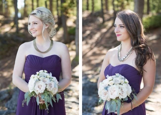 Plum & Nude Rustic Mountain Wedding - Melanie Bennett Photography 6