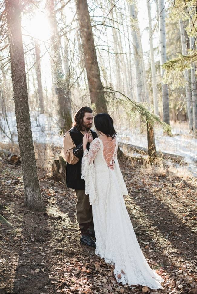 Snow White & The Huntsman Styled Wedding Shoot 19