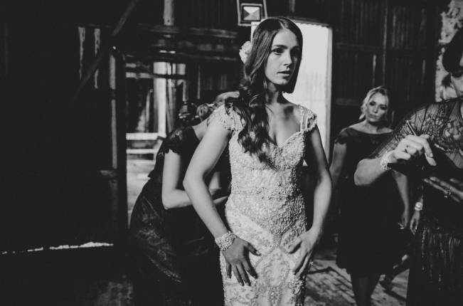 Anna Campbell's Intimate Rustic Wedding 17