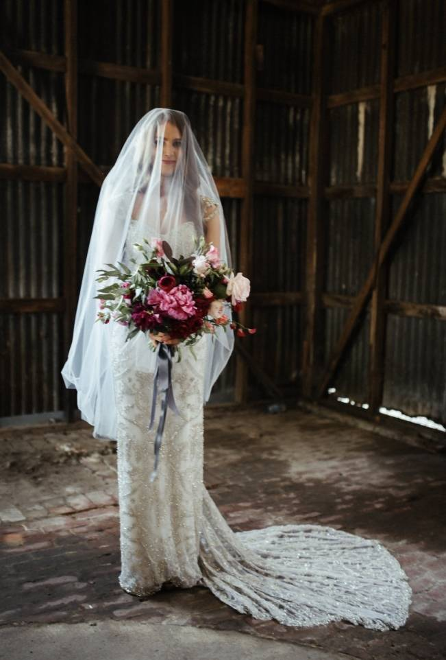 Anna Campbell's Intimate Rustic Wedding 18