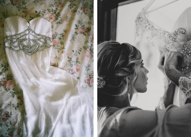 Anna Campbell's Intimate Rustic Wedding 2
