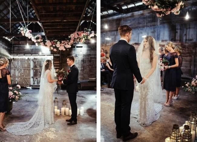 Anna Campbell's Intimate Rustic Wedding 21