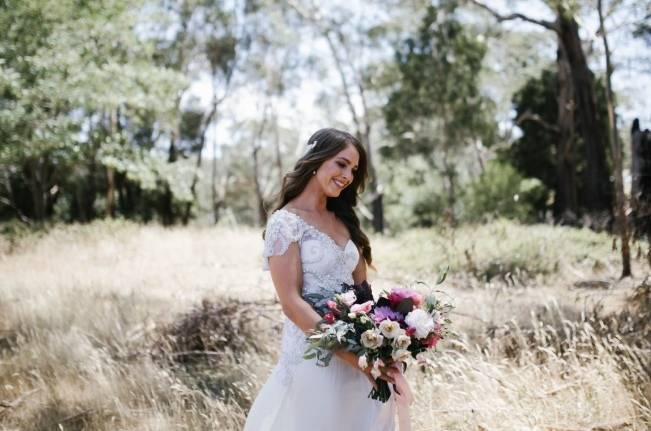 Anna Campbell's Intimate Rustic Wedding 3