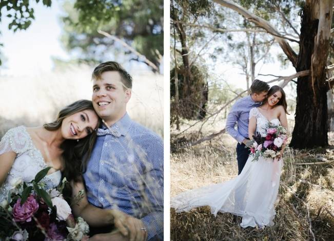 Anna Campbell's Intimate Rustic Wedding 6