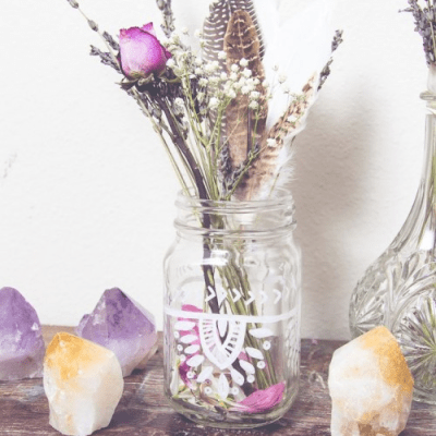 DIY Painted Jar Inspiration