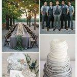 Wedding Color Palette: Hematite