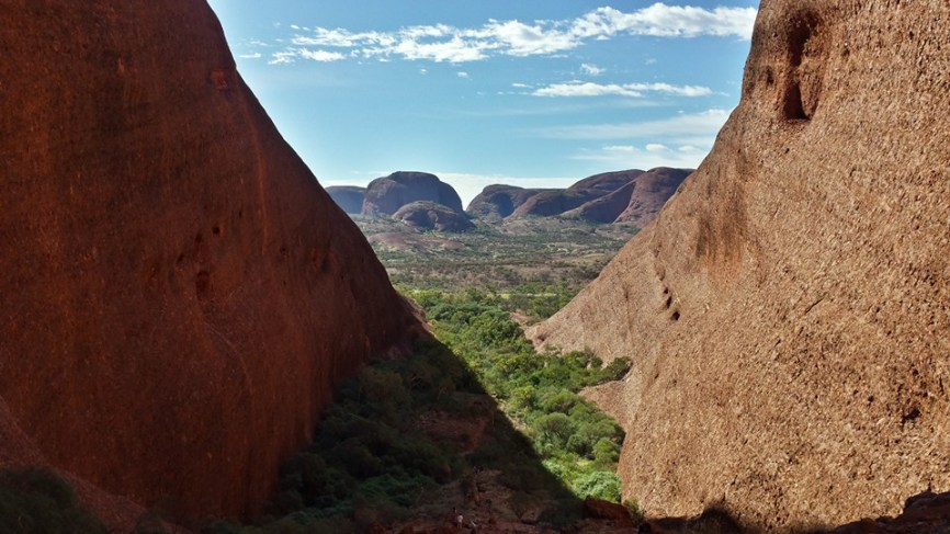 View from the top of the Valley of the Winds at Kata Tjuta