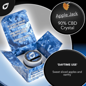 applejack cbd terpenes crystal