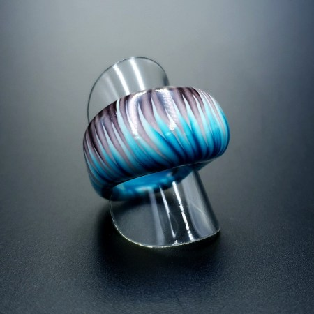 """""""Blue Flame"""" Ring"""
