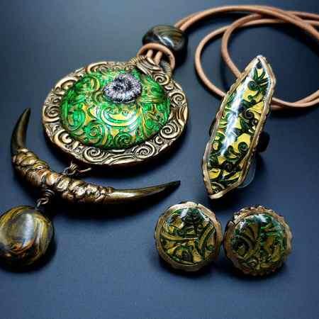 """""""East Ethnics"""" Jewelry Set"""