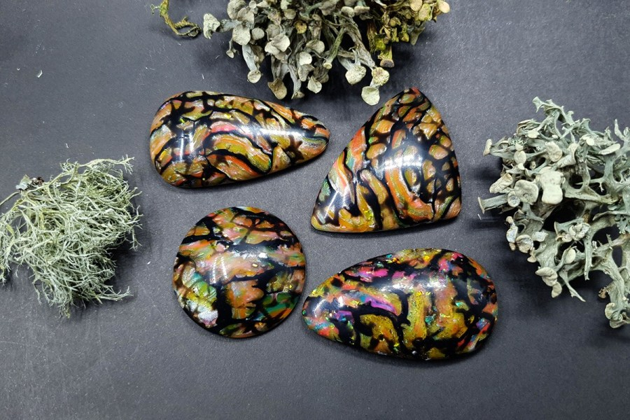 Faux Boulder Opal Set 01 p04
