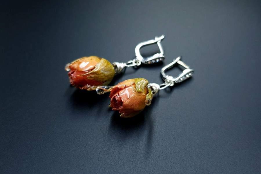 Frozen Roses Earrings 03