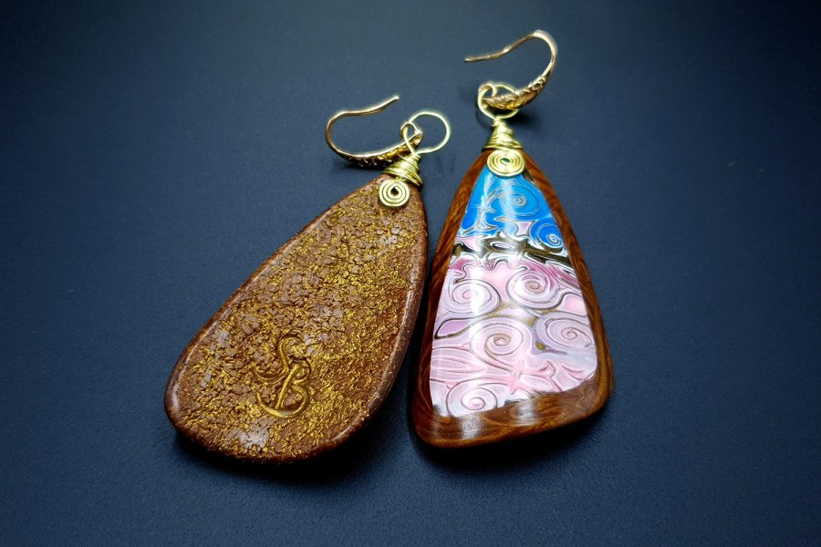 Pink Sunset Earrings 07