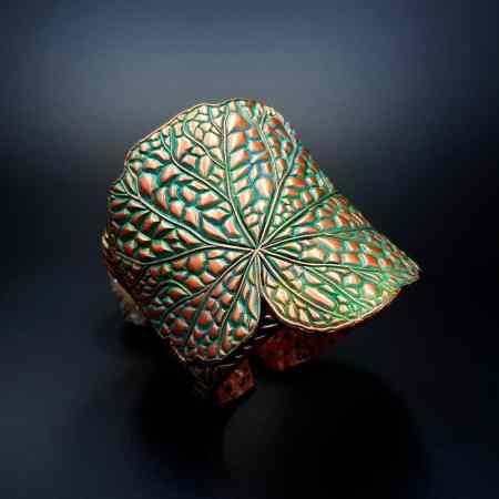 Begonia Leaf Bracelet Cuff