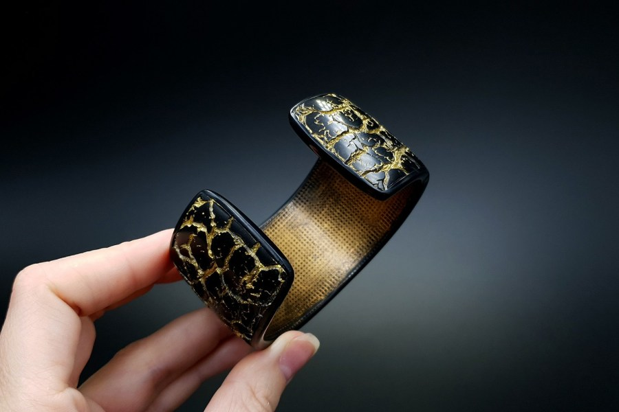 Product Cracked Marble Bracelet Cuff 08