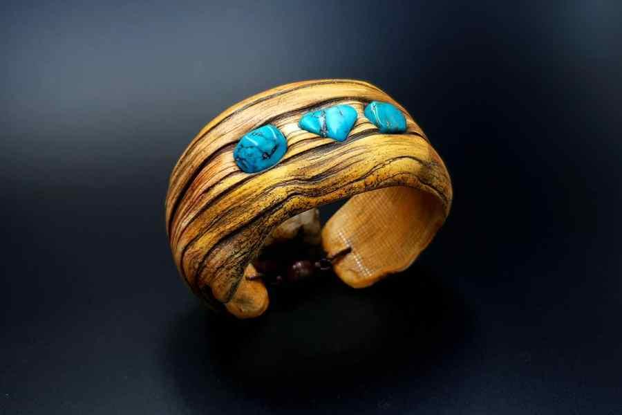 Product Drift Wood Bracelet Cuff 02