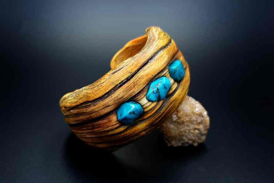 Product Drift Wood Bracelet Cuff 04