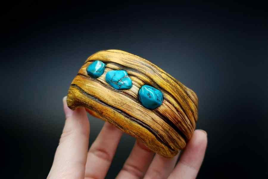 Product Drift Wood Bracelet Cuff 06