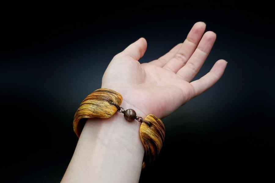 Product Drift Wood Bracelet Cuff 10