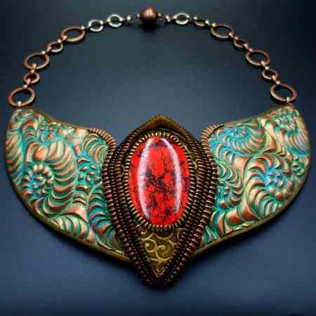 """""""Medieval Treasure"""" Necklace"""