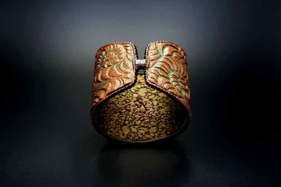 Product Petoskey Stone Bracelet Cuff 03