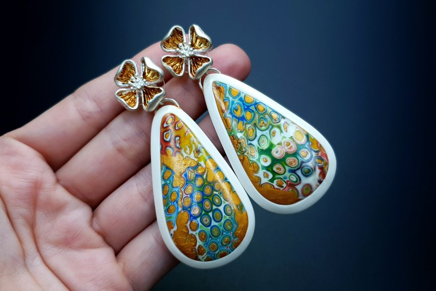 Royal Gold Earrings 07