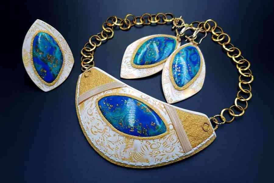 Windows Into the Ocean Jewelry set 03