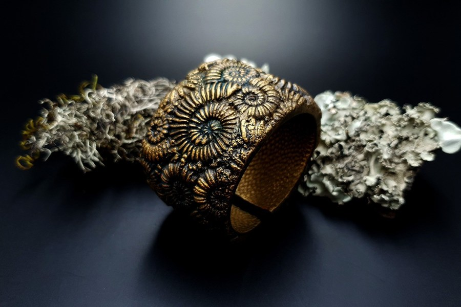 Bracelet Cuff Ammonites img01