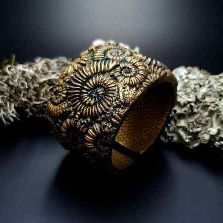 Bracelet Cuff Ammonites
