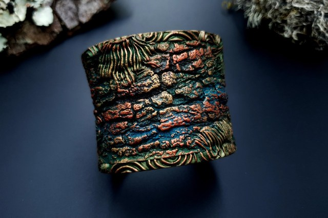 Bracelet Cuff Forest Treasure 20191012_134425