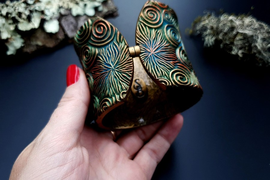 Bracelet Cuff Forest Treasure 20191012_135428