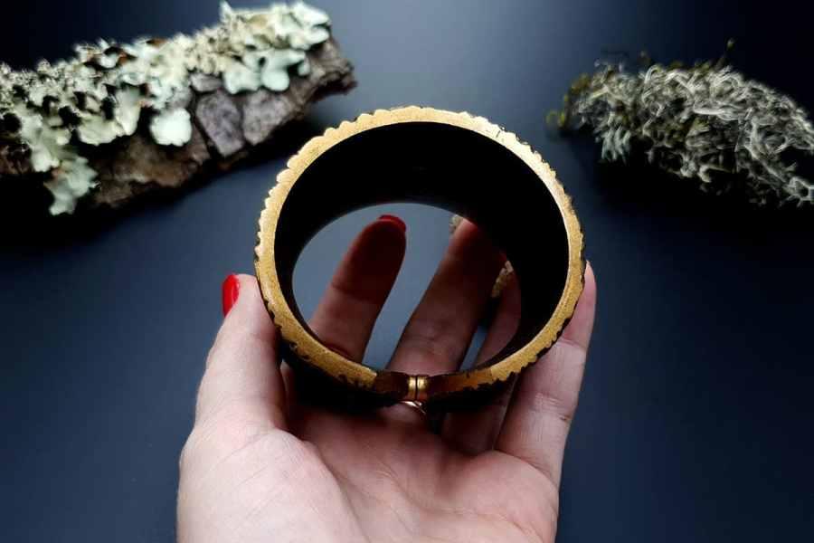 Bracelet Cuff Forest Treasure 20191012_135506