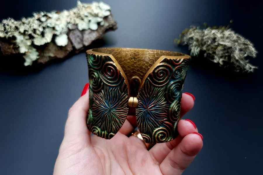Bracelet Cuff Forest Treasure 20191012_135521