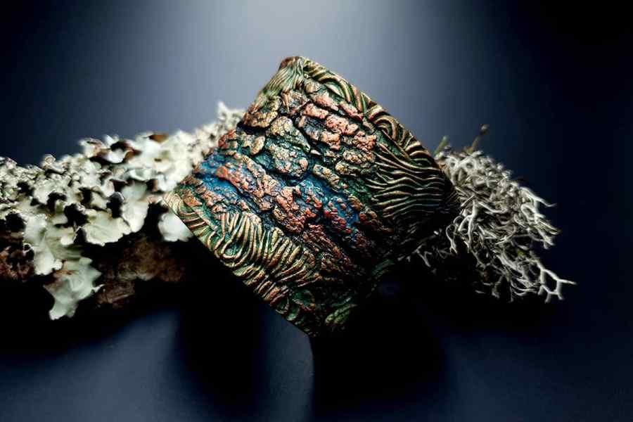 Bracelet Cuff Forest Treasure 20191012_135659